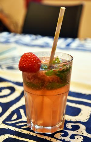 Cocktail MOJITO FRAISE
