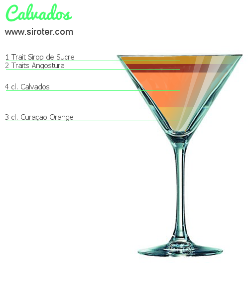 Cocktail ABRICOTIER