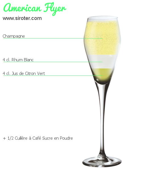 Cocktail american flyer recette pr paration et avis for Cocktail preparation