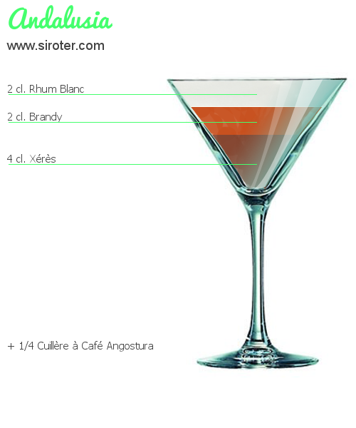 Cocktail ANDALUSIA
