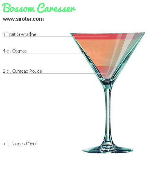 Cocktail BOSSOM CARESSER