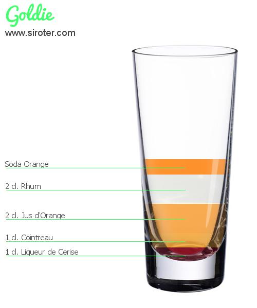 Cocktail goldie recette pr paration et avis for Cocktail preparation