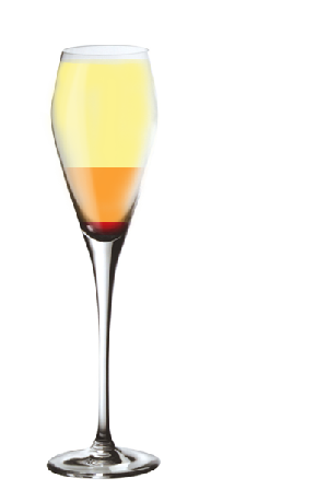 Cocktail CHAMPAGNE AUX FRUITS