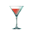 Cocktail ROSE Martini