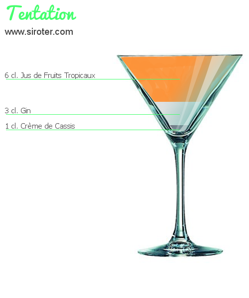 Cocktail TENTATION